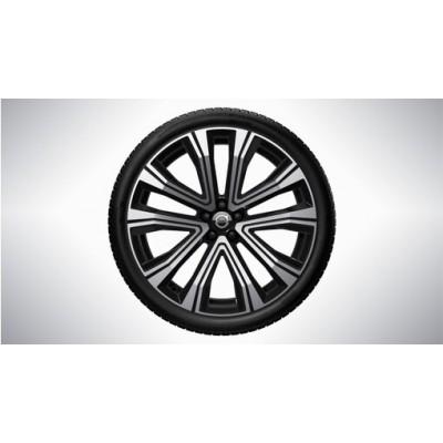 "Complete wielen, zomer ""5-V spaaks Black Diamond Cut"" 8,5 x 21"", Pirelli banden"