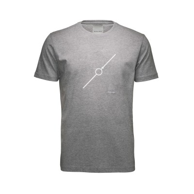 Heren T-shirt Diagonaal