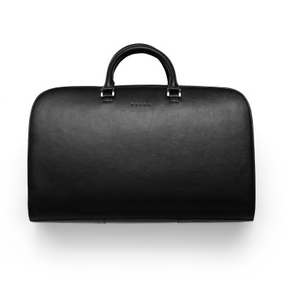 Leren Weekend Tas, black