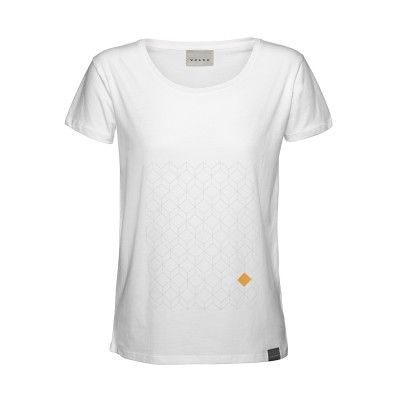 Dames T-shirt Diamant Patroon