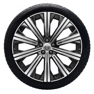 """Complete wielen, winter """"10-spaaks Black Diamond Cut"""" 9 x 20"""", incl. Twin Engine"""