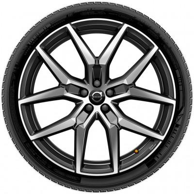 "Complete wielen, winter ""5-Y-spaaks Black Diamond Cut"" 9 x 22"", Polestar Engineered"