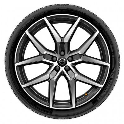 "Complete wielen, winter ""5-Y spaaks Black Diamond Cut"" 8 x 19"", Polestar Engineered"