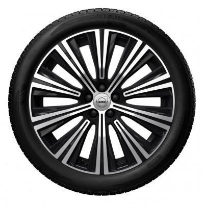"""Complete wielen, winter """"10-spaaks Black Diamond Cut"""" 8,5 x 19"""", incl. Twin Engine"""