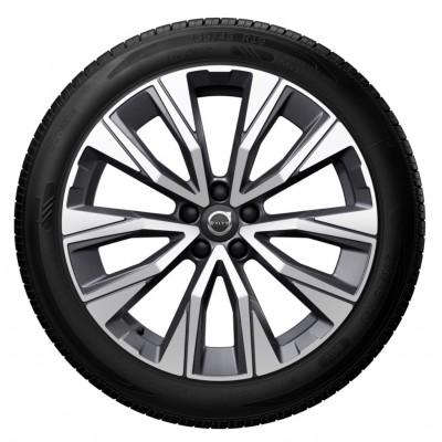 "Complete wielen, winter ""5-V spaaks Graphite Diamond Cut"" 7,5 x 19"", incl. Twin Engine"