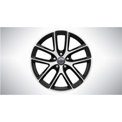 "Aluminium velg ""Modin"" 8 x 18"", Diamond cut/Black Stone"