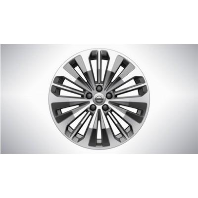 """Aluminium velgenset """"5-trippelspaaks Graphite Diamond Cut"""" 8 x 18"""""""