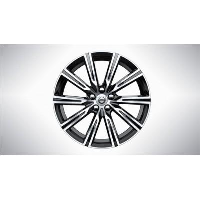 """Complete wielen, winter """"10-spaaks Black Diamond Cut"""" 7,5 x 19"""", incl. T8"""