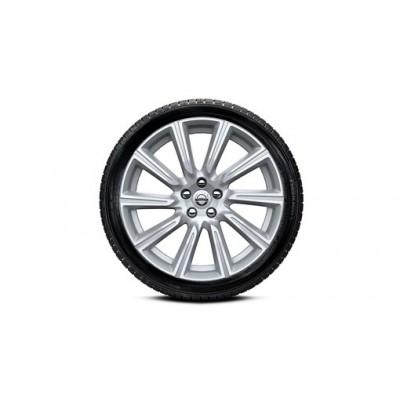 """Complete wielen, winter """"10-spaaks Silver Diamond"""" 8,5 x 19"""", Nokian banden, incl. T8"""
