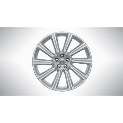 Complete wielen, winter 10-spaaks Silver Diamond Cut 9 x 20 incl. T8