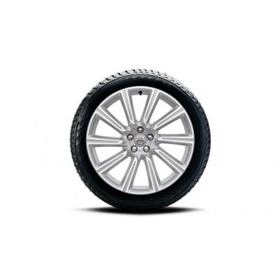 "Complete wielen, winter ""10-spaaks Silver Diamond Cut"" 9 x 20"", Nokian banden, incl. T8"