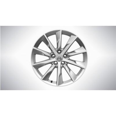 """Complete wielen, winter """"10-spaaks Turbine Silver Bright"""" 8 x 18"""", incl. T8"""