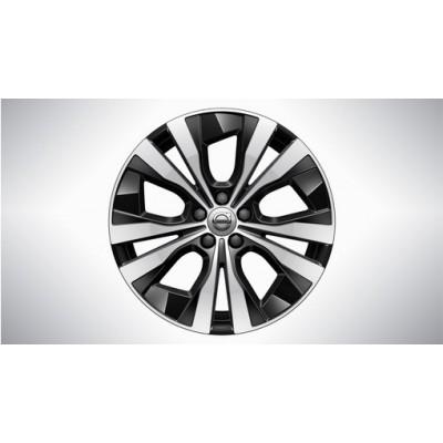 """Complete wielen, winter """"5-dubbelspaaks Black Diamond Cut"""" 7,5 x 18"""""""