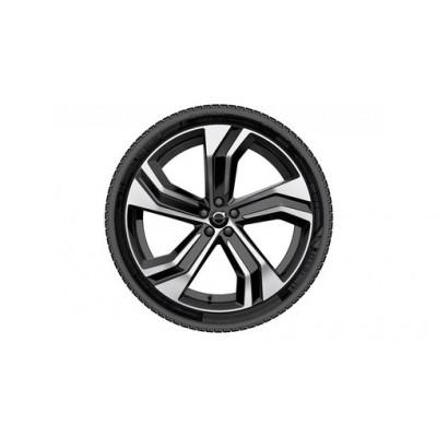 """Complete wielen, winter """"5-dubbelspaaks Black Diamond Cut"""" 9 x 22"""", Pirelli banden, incl. Twin Engine"""