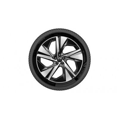 """Complete wielen, winter """"5-spaaks Black Diamond Cut"""" 9 x 20"""", incl. Twin Engine"""