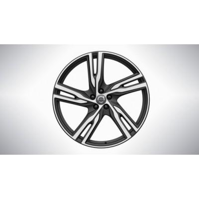 "Complete wielen, winter ""5-spaaks Matt Black Diamond Cut"" 8,5 x 21"", Pirelli banden, excl. T8"