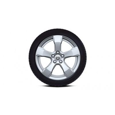 """Complete wielen, winter """"5-spaaks Silver"""" 7,5 x 17"""""""