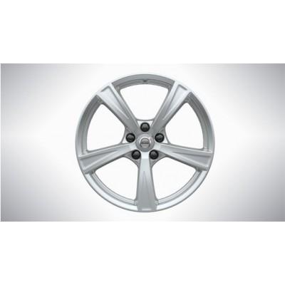 "Complete wielen, winter ""5-spaaks Sparkling ''Silver 8 x 18"""