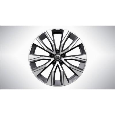 "Complete wielen, winter ""5-V spaaks Graphite Black Diamond Cut"" 7,5 x 19"""