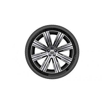 """Complete wielen, winter """"8-multispaaks Black Diamond Cut"""" 9 x 21"""", Nokian banden, incl. Twin Engine"""