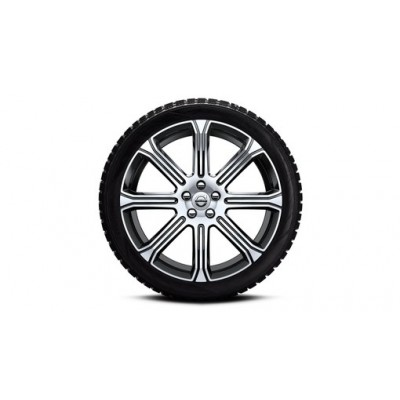 """Complete wielen, winter """"8-Spaaks Black Diamond Cut"""" 8 x 20"""", incl. Twin Engine"""