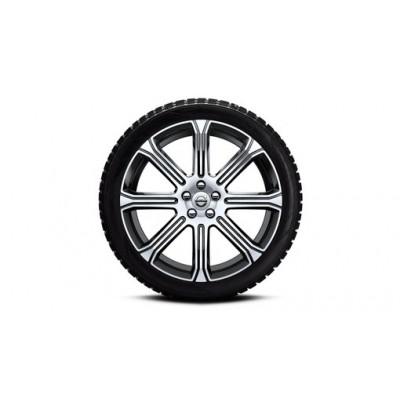 "Complete wielen, winter ""8-Spaaks Black Diamond Cut"" 8 x 20"", Nokian banden, incl. T8"