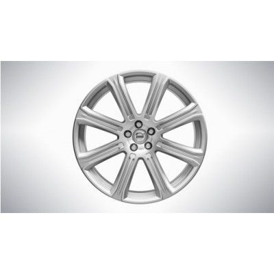 "Complete wielen, winter ""8-spaaks Silver Diamond Cut"" 9 x 21"", Nokian banden, incl. T8"