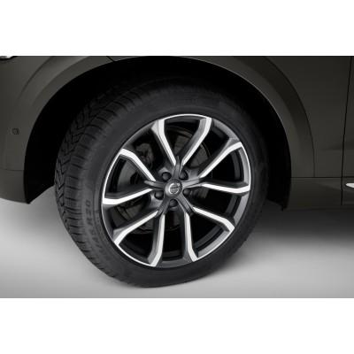 "Complete wielen, zomer ""5-dubbelspaaks Tech Black matt Diamond Cut"" 9 x 20"", Michelin banden, excl. T8"