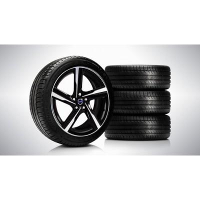 "Complete wielen, zomer ""Ixion II"" 7,5 x 18"", Michelin banden"
