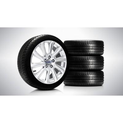 """Complete wielen, zomer """"Mannan"""" 7 x 17"""", Pirelli banden"""