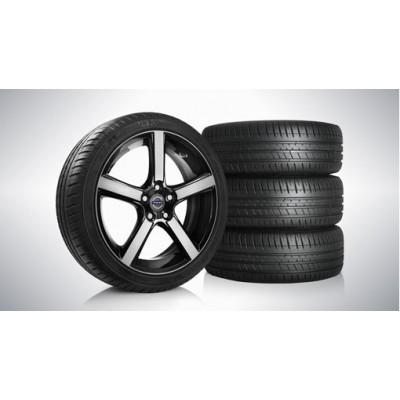 "Complete wielen, zomer ""Midir"" 7,5 x 18"", Michelin banden"