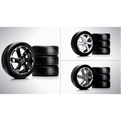 "Complete wielen, zomer ""Talitha"" 8 x 20"", Pirelli banden"