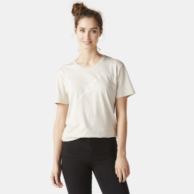 Dames T-shirt Diagonaal