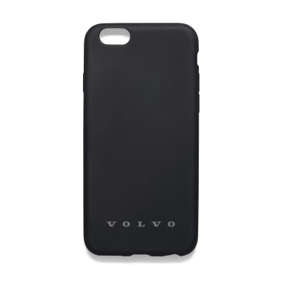 iPhone 6 / 7 / 8 Siliconen Case Volvo, zwart