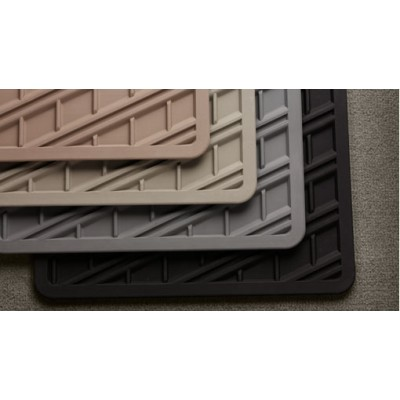 Mat, vloer passagiersruimte, rubber schaalvormig