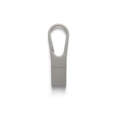 USB-stick rubber, 16 GB, sleutelhanger