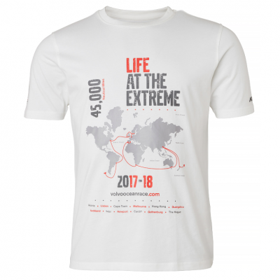 Volvo Ocean Race T-shirt Map Heren