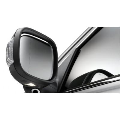 Zijspiegels, buiten, inklapbaar met grondverlichting