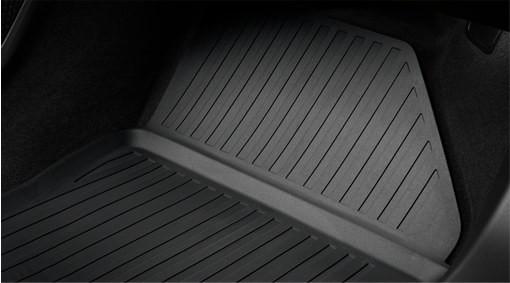 Matten, vloer passagiersruimte, vormgegoten kunststof