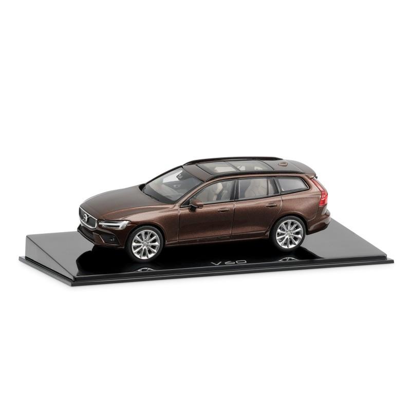Volvo V60 1:43, Maple Brown