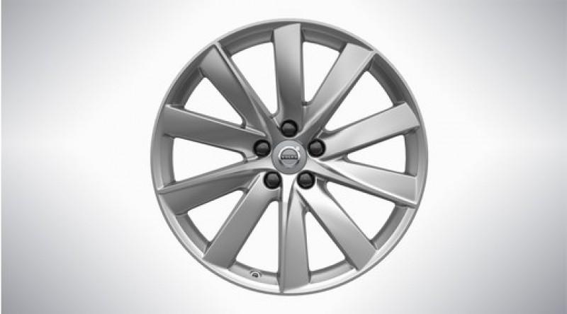 "Aluminium velgenset ""10-spaaks Turbine Silver"" 8 x 19"", excl. T8"