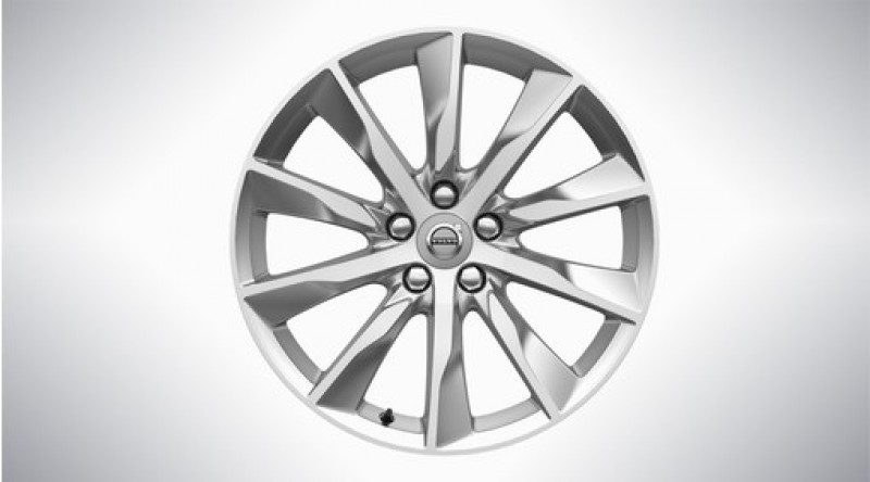 "Aluminium velgenset ""10-spaaks Turbine Silver Bright"" 8 x 18"""