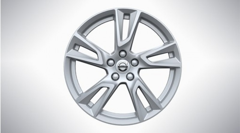"Aluminium velgenset ""5-dubbelspaaks Silver"" 7,5 x 18"""