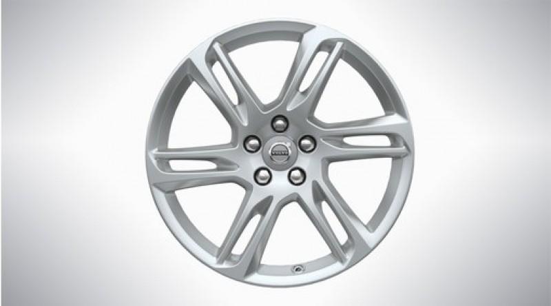 "Aluminium velgenset ""6-dubbelspaaks Sparkling Silver"" 8 x 18"", excl. T8"