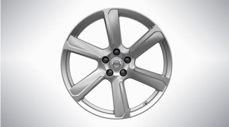 "Aluminium velgenset ""6-spaaks Turbine Silver"" 8 x 19"" incl. T8"