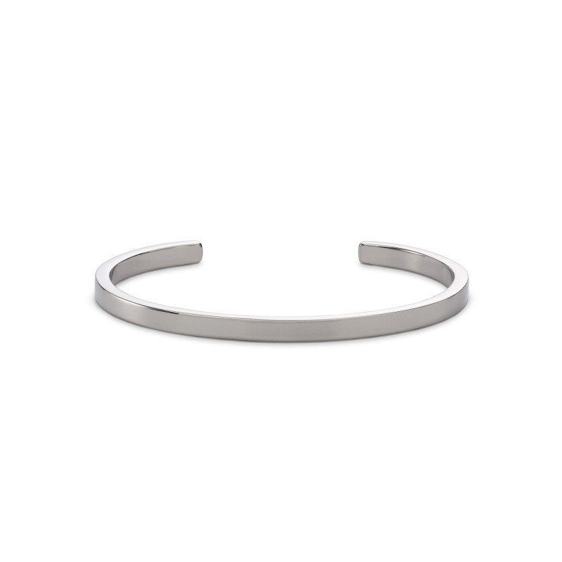 Armband Skultuna SB Cuff, Polished Steel