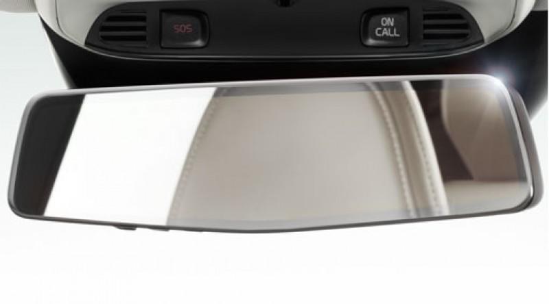 Binnenspiegel met automatische antiverblindingsregeling en kompas