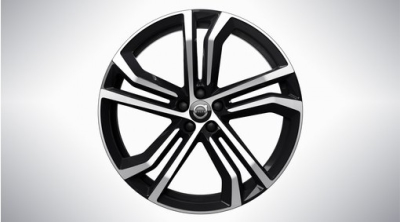 """Complete wielen, winter """"5-dubbelspaaks Black Diamond Cut"""" 8,5 x 21"""", excl. Twin Engine"""