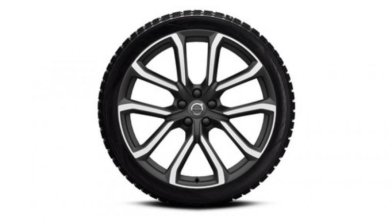"""Complete wielen, winter """"5-dubbelspaaks Matt Tech Black Diamond Cut"""" 9 x 20"""", incl. Twin Engine"""