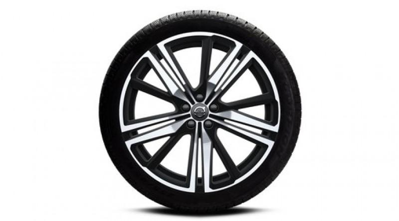 "Complete wielen, winter ""5-trippelspaaks Matt Black Diamond Cut"" 8,5 x 21"", incl. Twin Engine"